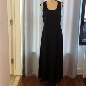 Faded Glory Black Maxi Dress Size Large
